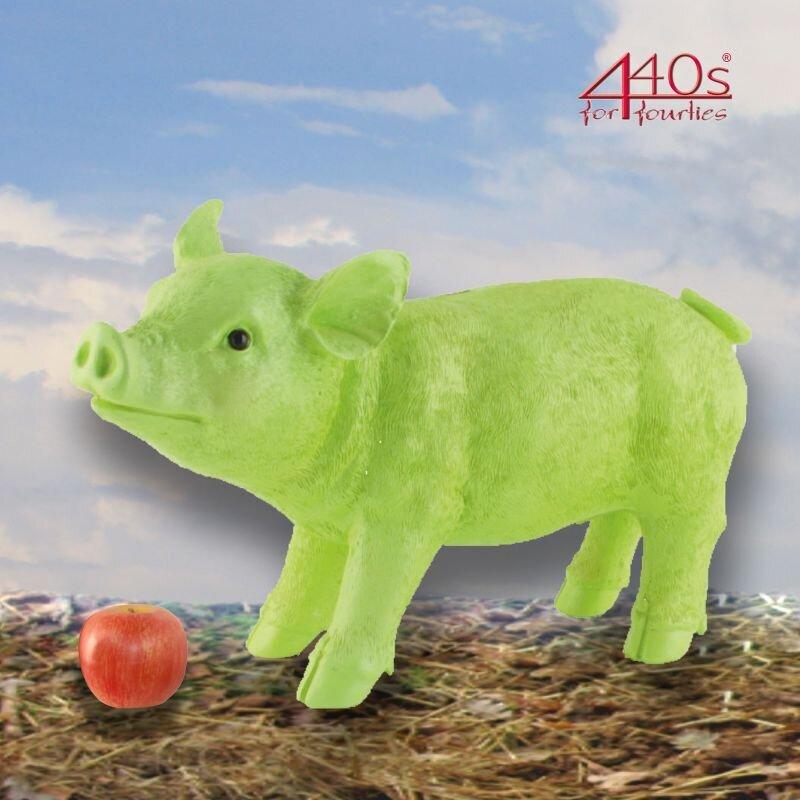 Gift-Company Spar Schweini grün H ca. 23 cm | GC-75556