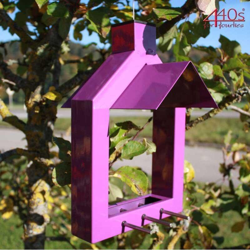 ARISTO Vogelfutterhaus ALICANTE lila, H ca. 31,5cm