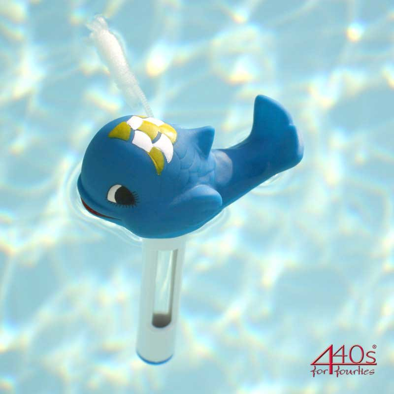 Pool Thermometer kleiner Wal | PO-0181031 | 4260353191299