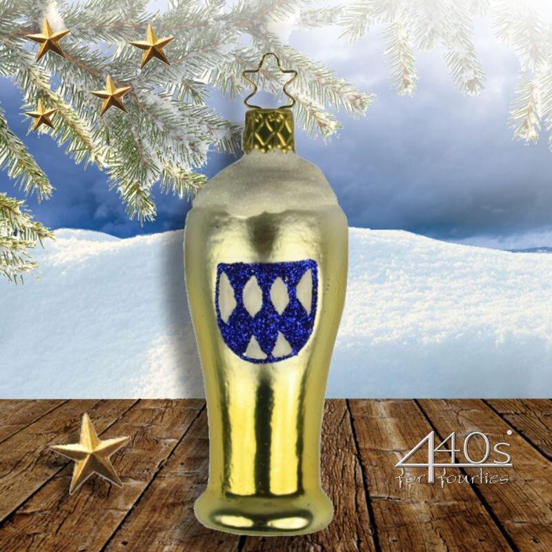 INGE-GLAS Weihnachts-Hänger Weißbierglas