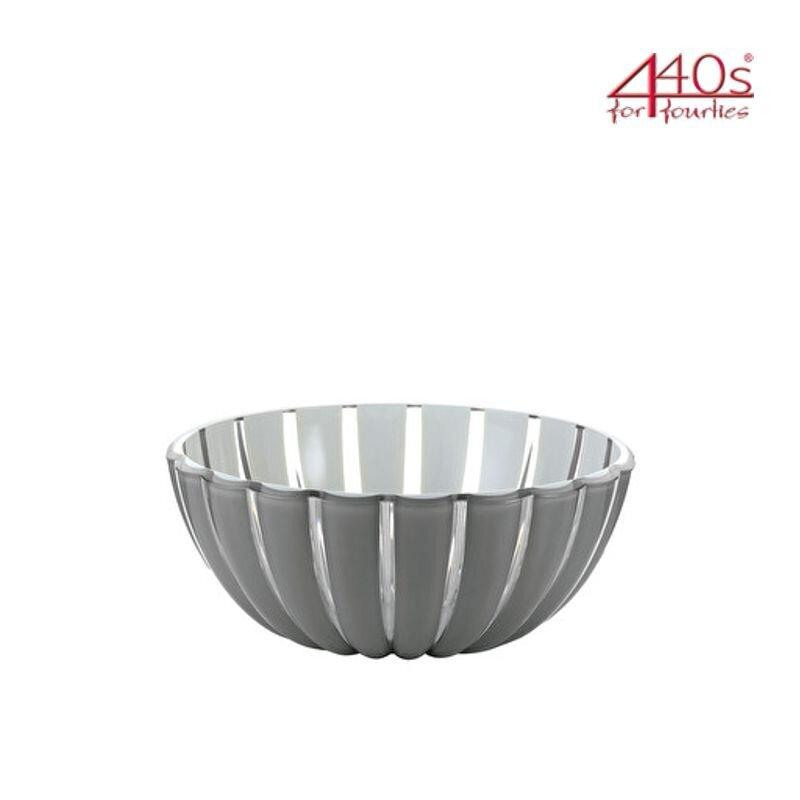 guzzini Schale GRACE grau-weiß D ca. 12 cm | FG-2969.12-92