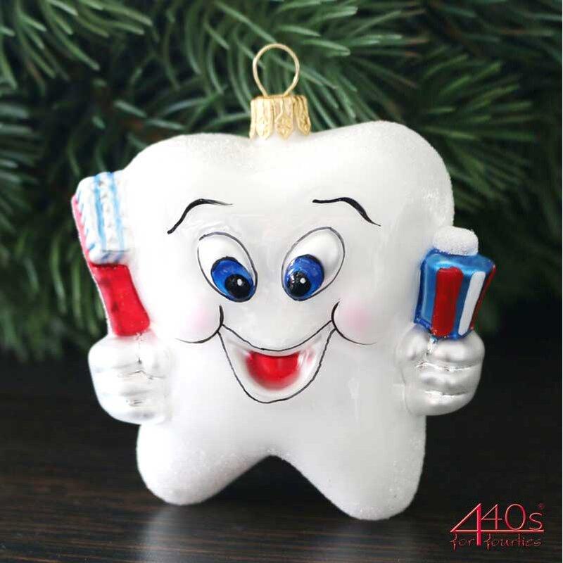 440s Christbaum-Hänger Happy Tooth | PP-1250