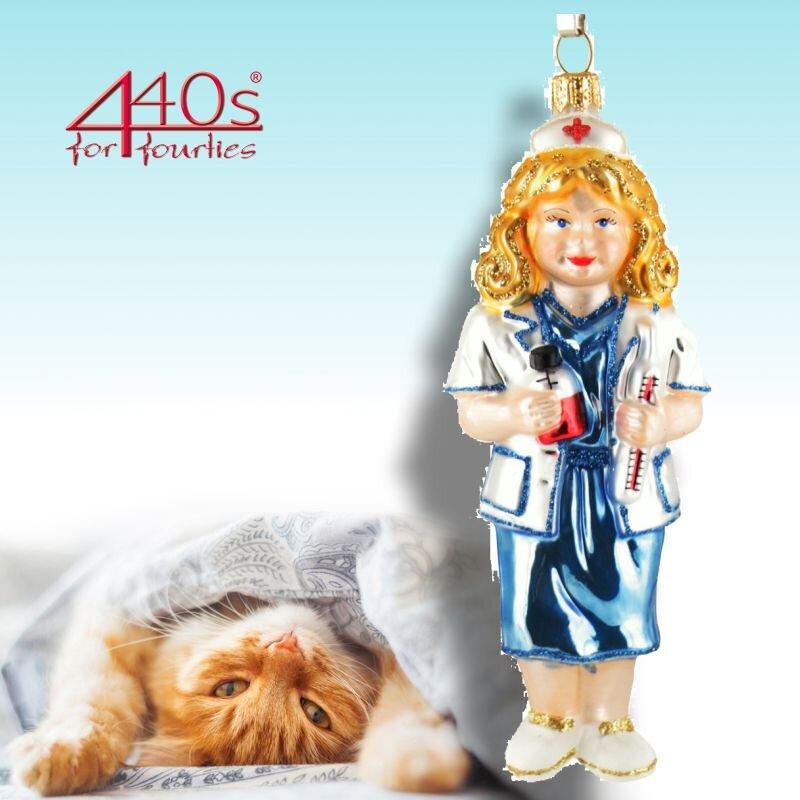 440s Christbaum-Hänger Krankenschwester