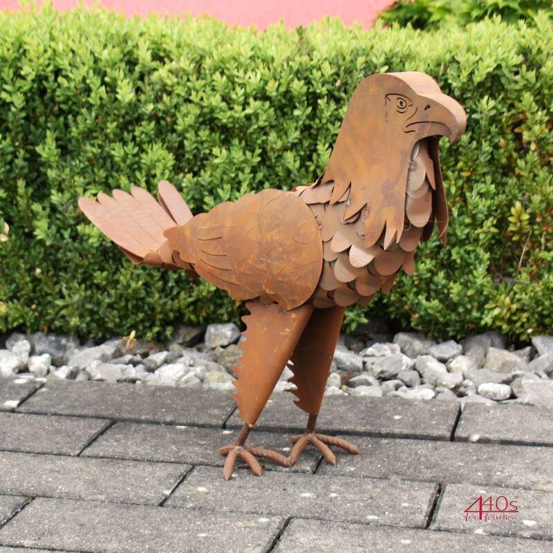 Ferrum Art Design Rostfigur Adler 3D, H. ca. 50 cm | FE-5-0999 |
