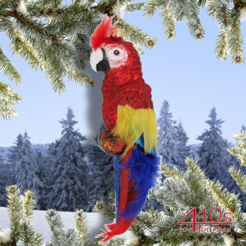 440s Christbaum-Hänger Papagei | PP-1795
