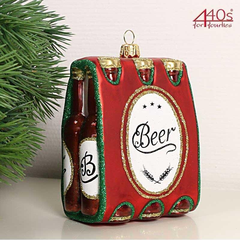 440s Christbaum-Hänger 6er Pack Bier | PP-1923