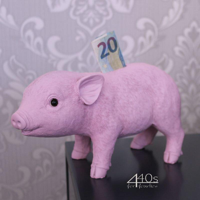 Gift-Company Sparschwein SELVA rosa L ca 24 cm | GC-77532