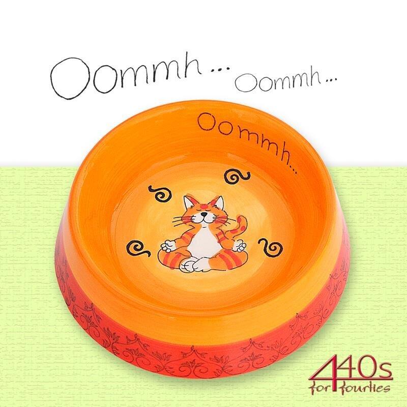 Mila Keramik-Futternapf Oommh Katze | MI-9138
