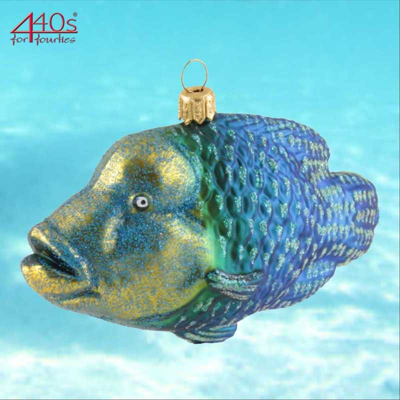 440s Christbaum-Hänger Napoleonfisch | PP-2198