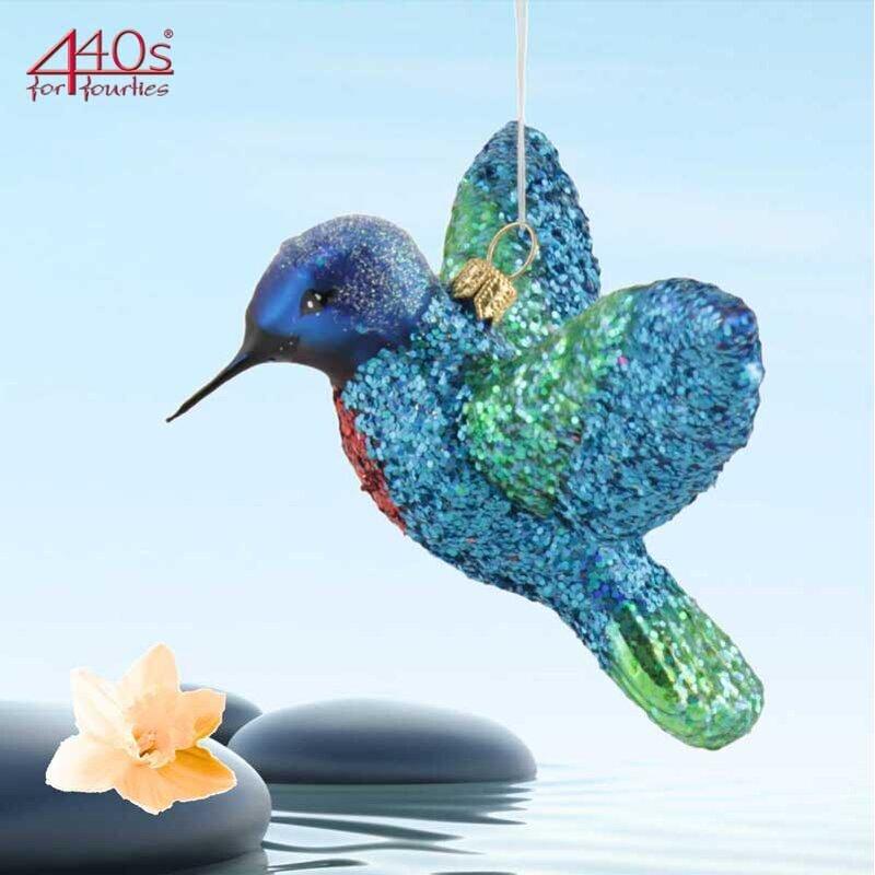 440s Christbaum-Hänger Kolibri blau-grün | PP-1459B.14
