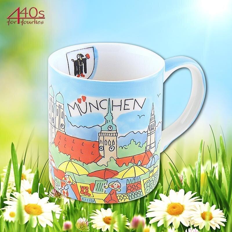 Mila Keramik-Becher München | MI-8015