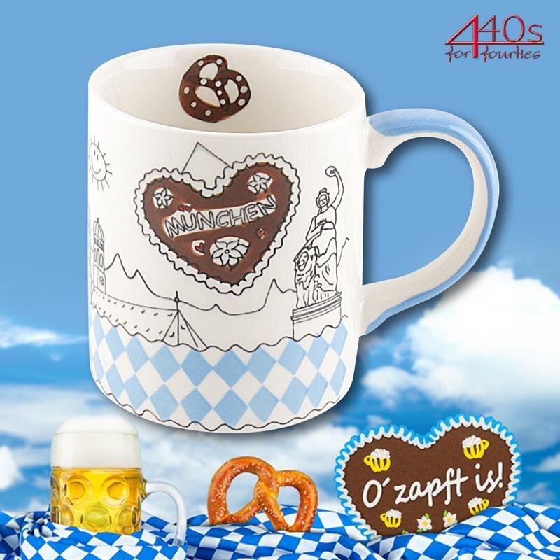 Mila Keramik-Becher München | MI-8016