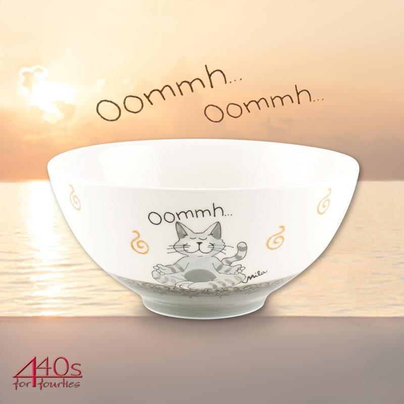 Mila Keramik-Schale Oommh Katze Pure
