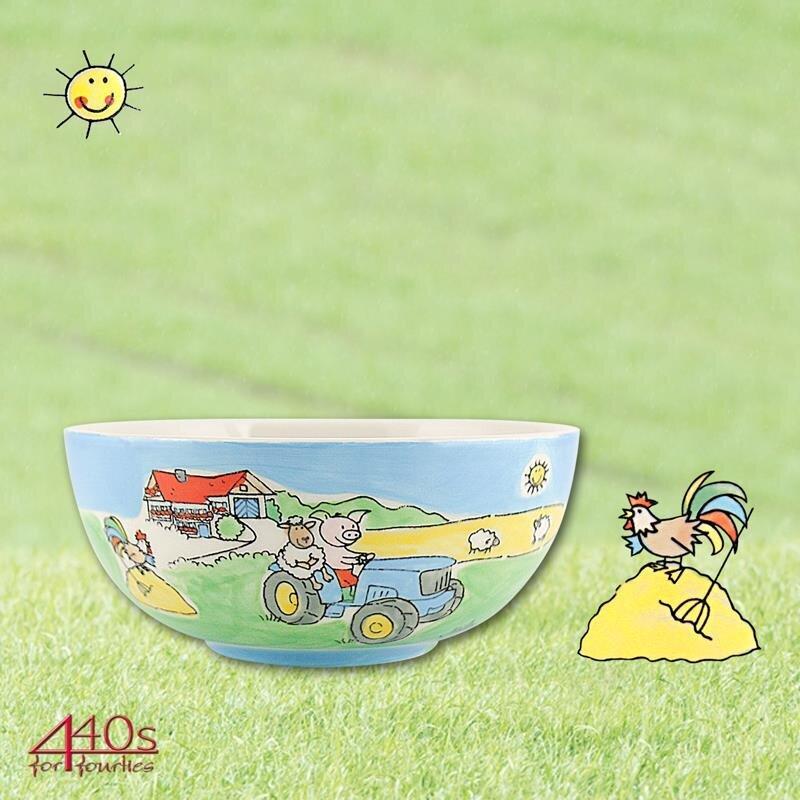 Mila Keramik Kinder-Schale Bauernhof | MI-96181