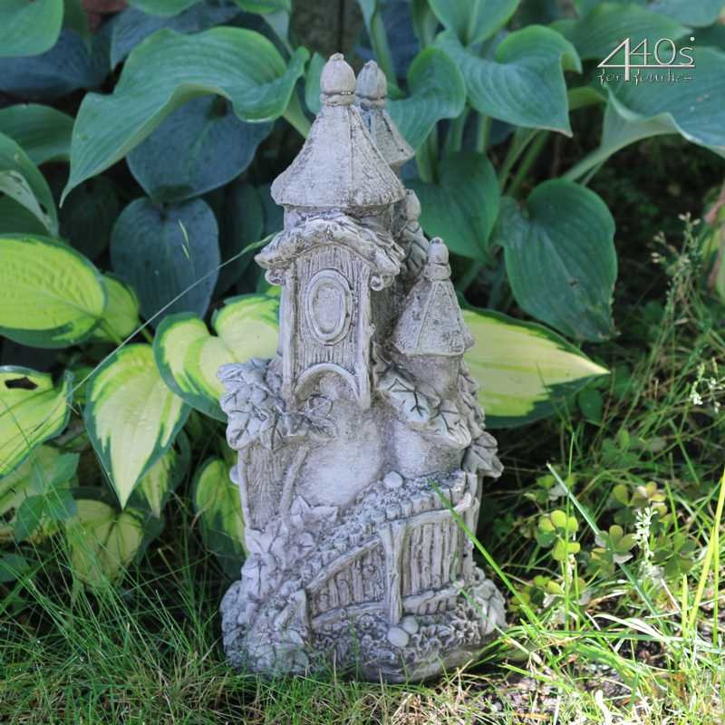Kretakotta Kobold Villa Eichenlaub Antiksteinguss H ca. 33cm | KK-1740-D