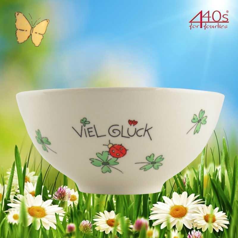 Mila Keramik-Schale Viel Glück | MI-85196