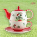 Mila Keramik Tee-Set Tea for One Viel Glück | MI-99196