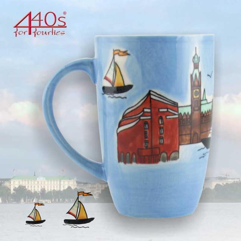 Mila Keramik-Design-Becher Hamburg | MI-95007