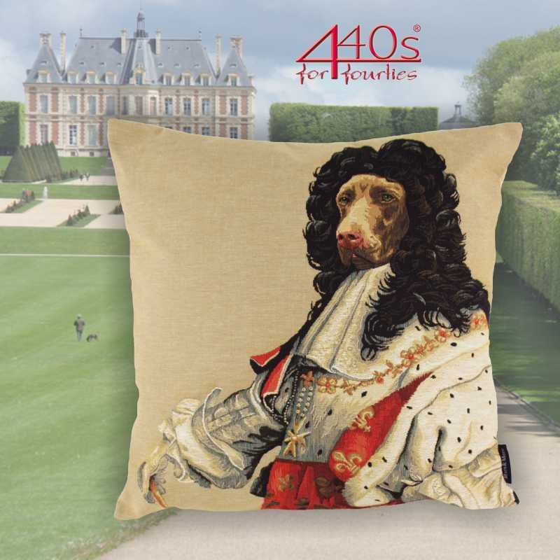 Mars & More Gobelin Kissen Louis XIV ca 45 x 45 cm | MM-EVKSLOU