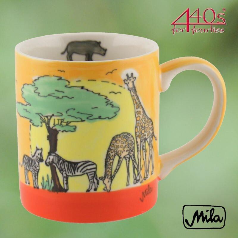 Mila Keramik-Becher Afrika | MI-80211
