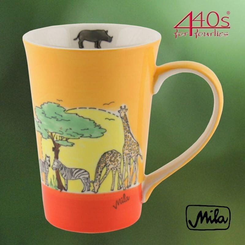 Mila Keramik-Teebecher Afrika | MI-81211