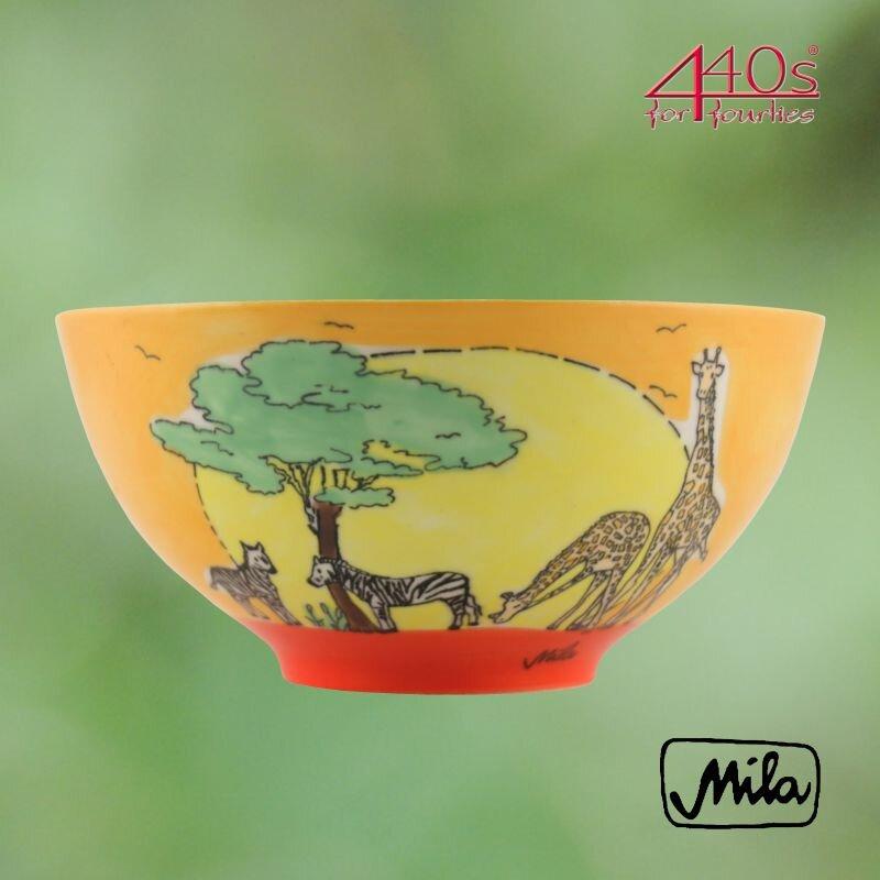 Mila Keramik-Schale Afrika | MI-85211