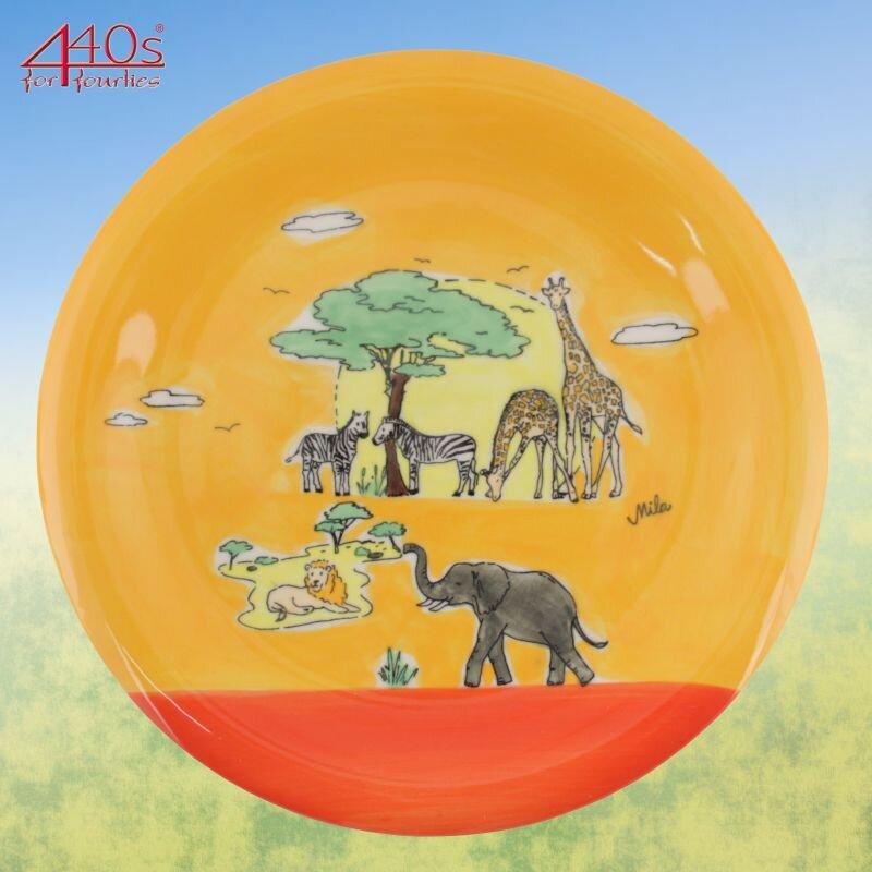 Mila Keramik-Teller Afrika | MI-84211