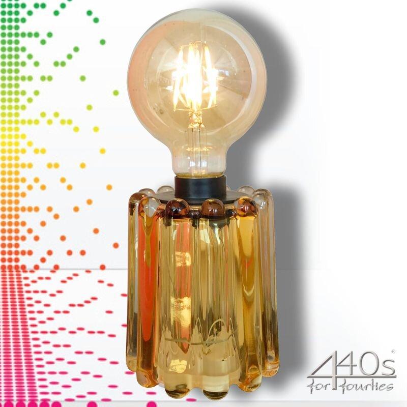 Mila LED Tisch-Lampe Retro-Sol gelb   MI-440-RS-GE