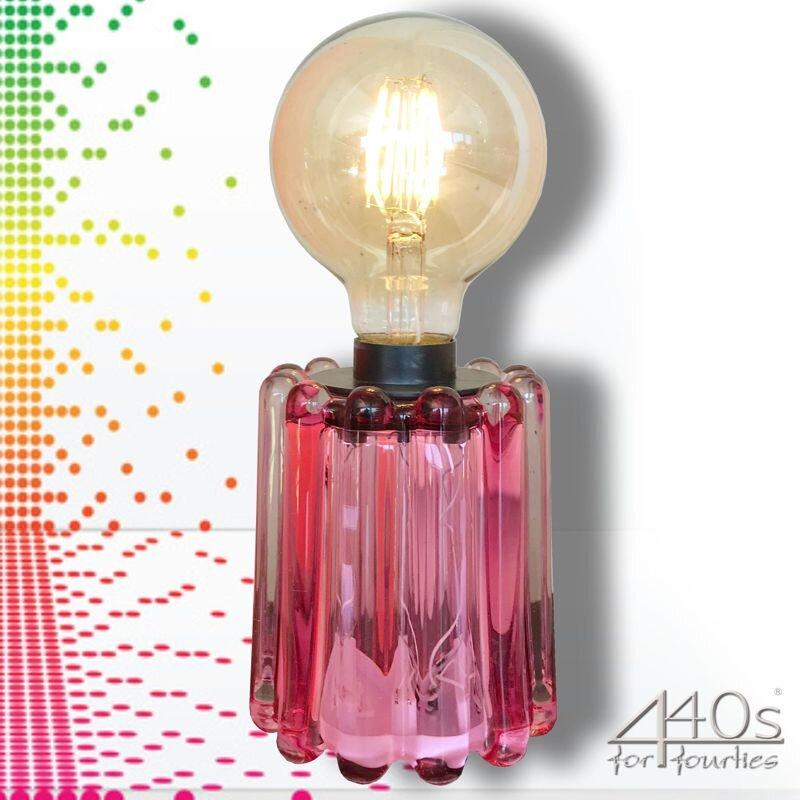 Mila LED Tisch-Lampe Retro-Sol pink   MI-440-RS-PI